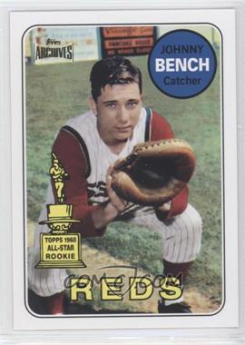 2012 Topps Archives Reprint Inserts #95 - Johnny Bench