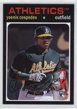 2012 Topps Archives #95 - Yoenis Cespedes