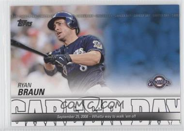 2012 Topps Career Day #CD-10 - Ryan Braun