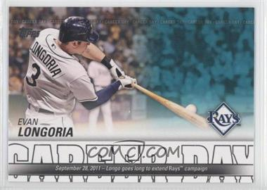 2012 Topps Career Day #CD-13 - Evan Longoria