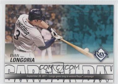 2012 Topps Career Day #CD-13 - Evan Longoria