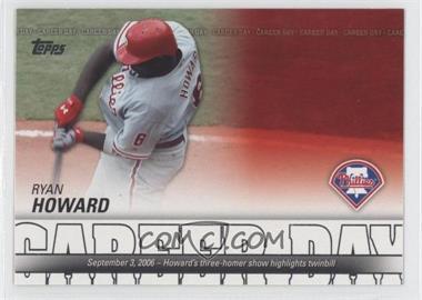 2012 Topps Career Day #CD-16 - Ryan Howard