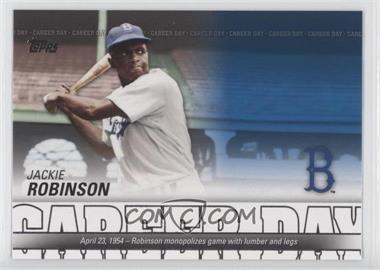 2012 Topps Career Day #CD-19 - Jackie Robinson