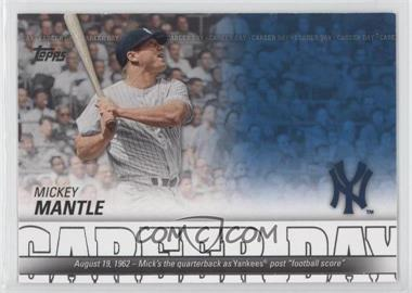 2012 Topps Career Day #CD-22 - Mickey Mantle