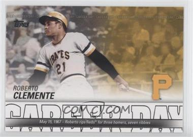 2012 Topps Career Day #CD-23 - Roberto Clemente