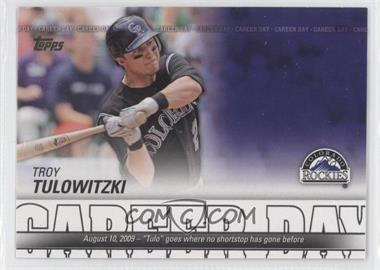 2012 Topps Career Day #CD-24 - Troy Tulowitzki