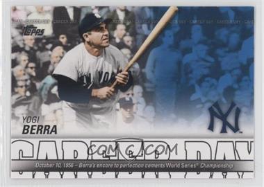 2012 Topps Career Day #CD-25 - Yogi Berra