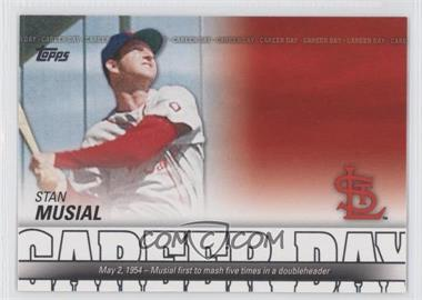 2012 Topps Career Day #CD-4 - Stan Musial