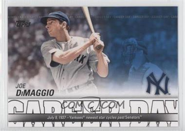 2012 Topps Career Day #CD-6 - Joe DiMaggio
