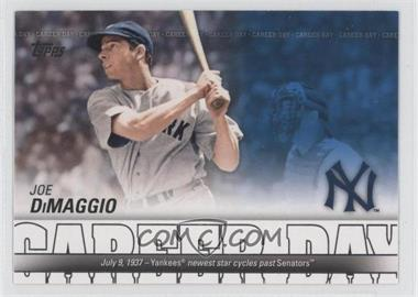 2012 Topps Career Day #CD-6 - Joe DiMaggio