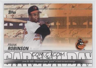 2012 Topps Career Day #CD-7 - Frank Robinson
