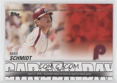 2012 Topps Career Day #CD-8 - Mike Schmidt