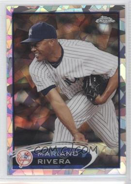 2012 Topps Chrome - [Base] - Atomic Refractor #150 - Mariano Rivera /10