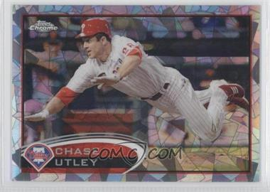 2012 Topps Chrome - [Base] - Atomic Refractor #25 - Chase Utley /10
