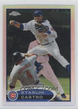 2012 Topps Chrome - [Base] - Refractor #127 - Starlin Castro