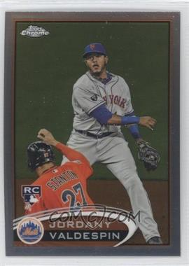 2012 Topps Chrome - [Base] #195 - Jordany Valdespin