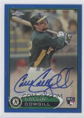 2012 Topps Chrome - Rookie Autograph - Blue Refractor #178 - Collin Cowgill /199