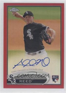 2012 Topps Chrome - Rookie Autograph - Red Refractor #166 - Addison Reed /25
