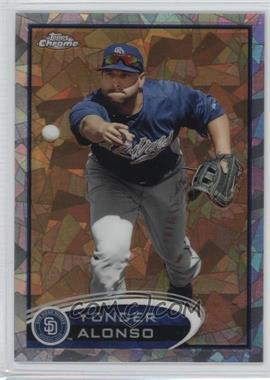 2012 Topps Chrome Atomic Refractor #101 - Yonder Alonso /10