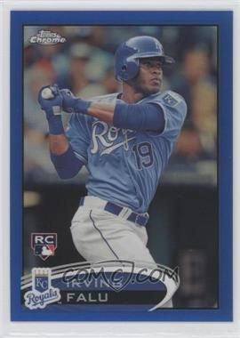 2012 Topps Chrome Blue Refractor #200 - Irving Falu /199