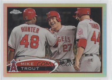 2012 Topps Chrome Refractor #144 - Mike Trout