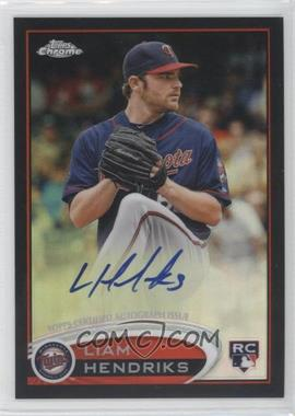 2012 Topps Chrome Rookie Autographs Black Refractor [Autographed] #154 - Liam Hendriks /100