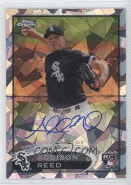 2012 Topps Chrome Rookie Autographs Crystal Atomic Refractor [Autographed] #166 - Addison Reed /10