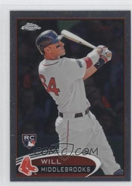 2012 Topps Chrome #197 - Will Middlebrooks