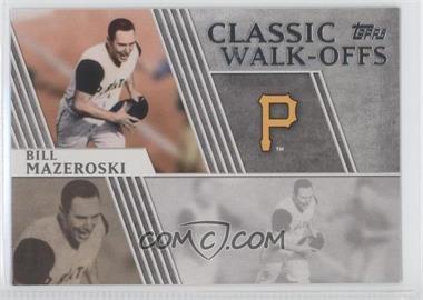 2012 Topps Classic Walk-Offs #CW-1 - Bill Mazeroski