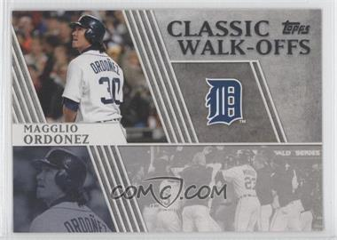 2012 Topps Classic Walk-Offs #CW-11 - Magglio Ordonez
