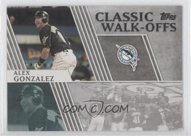 2012 Topps Classic Walk-Offs #CW-12 - Alex Gonzalez