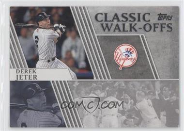 2012 Topps Classic Walk-Offs #CW-15 - Derek Jeter
