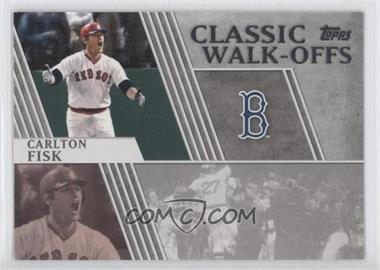 2012 Topps Classic Walk-Offs #CW-2 - Carlton Fisk