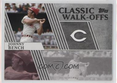 2012 Topps Classic Walk-Offs #CW-3 - Johnny Bench