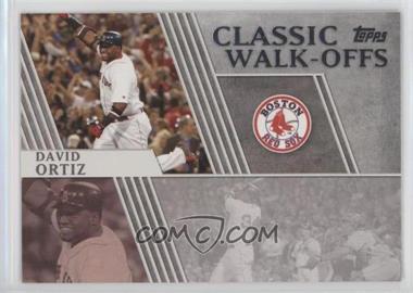2012 Topps Classic Walk-Offs #CW-4 - David Ortiz