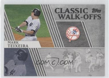 2012 Topps Classic Walk-Offs #CW-6 - Mark Teixeira