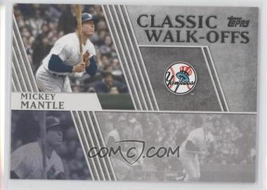 2012 Topps Classic Walk-Offs #CW-7 - Mickey Mantle