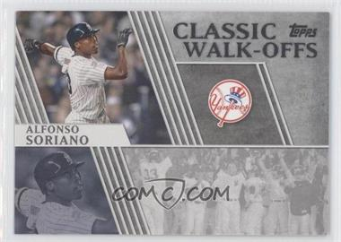 2012 Topps Classic Walk-Offs #CW-8 - Alfonso Soriano