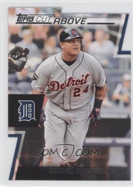 2012 Topps Cut Above #ACA-10 - Miguel Cabrera