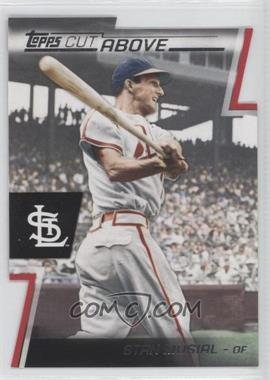2012 Topps Cut Above #ACA-12 - Stan Musial