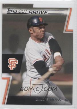 2012 Topps Cut Above #ACA-14 - Willie Mays
