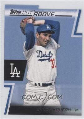 2012 Topps Cut Above #ACA-16 - Sandy Koufax