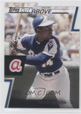 2012 Topps Cut Above #ACA-21 - Hank Aaron