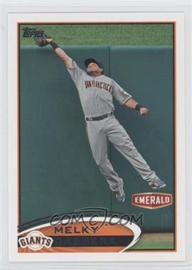 2012 Topps Emerald Nuts San Francisco Giants #SF25 - Melky Cabrera