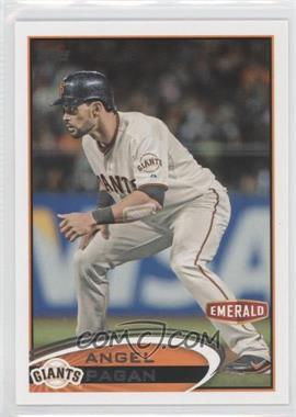 2012 Topps Emerald Nuts San Francisco Giants #SF26 - Angel Pagan