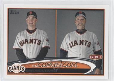 2012 Topps Emerald Nuts San Francisco Giants #SF31 - Mark Gardner, Bill Hayes