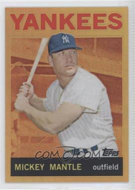 2012 Topps Factory Set Exclusive Chrome Gold Refractors #50 - Mickey Mantle