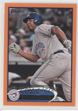 2012 Topps Factory Set Orange #341 - Edwin Encarnacion /190