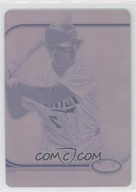 2012 Topps Finest - [Base] - Printing Plate Magenta #83 - Joe Mauer /1