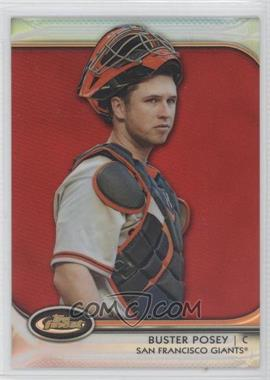 2012 Topps Finest - [Base] - Red Refractor #53 - Buster Posey /25